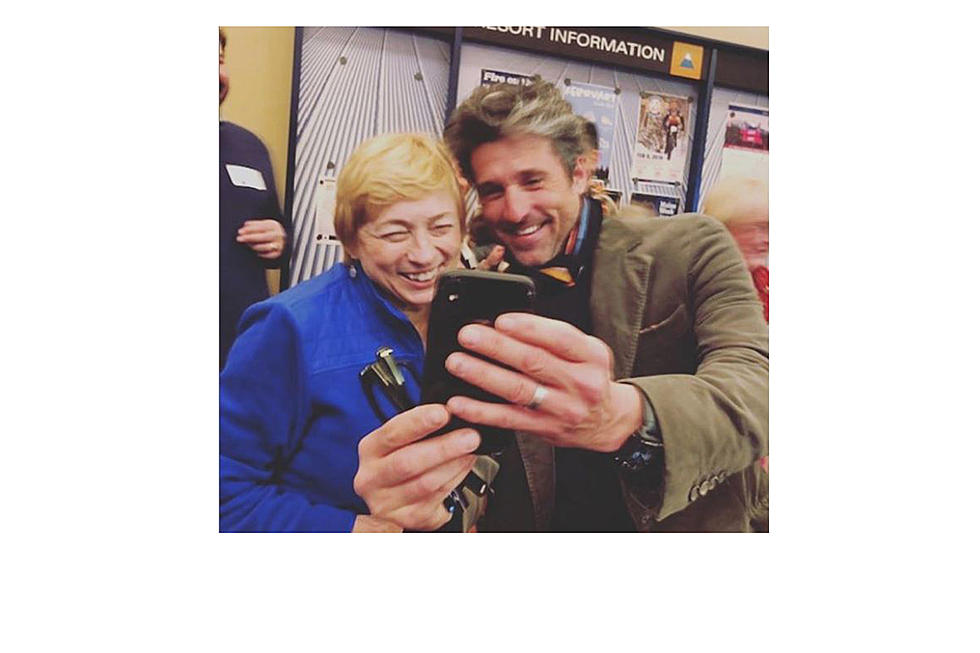 Maine Governor Mills Posts Selfie With Actor Patrick Dempsey