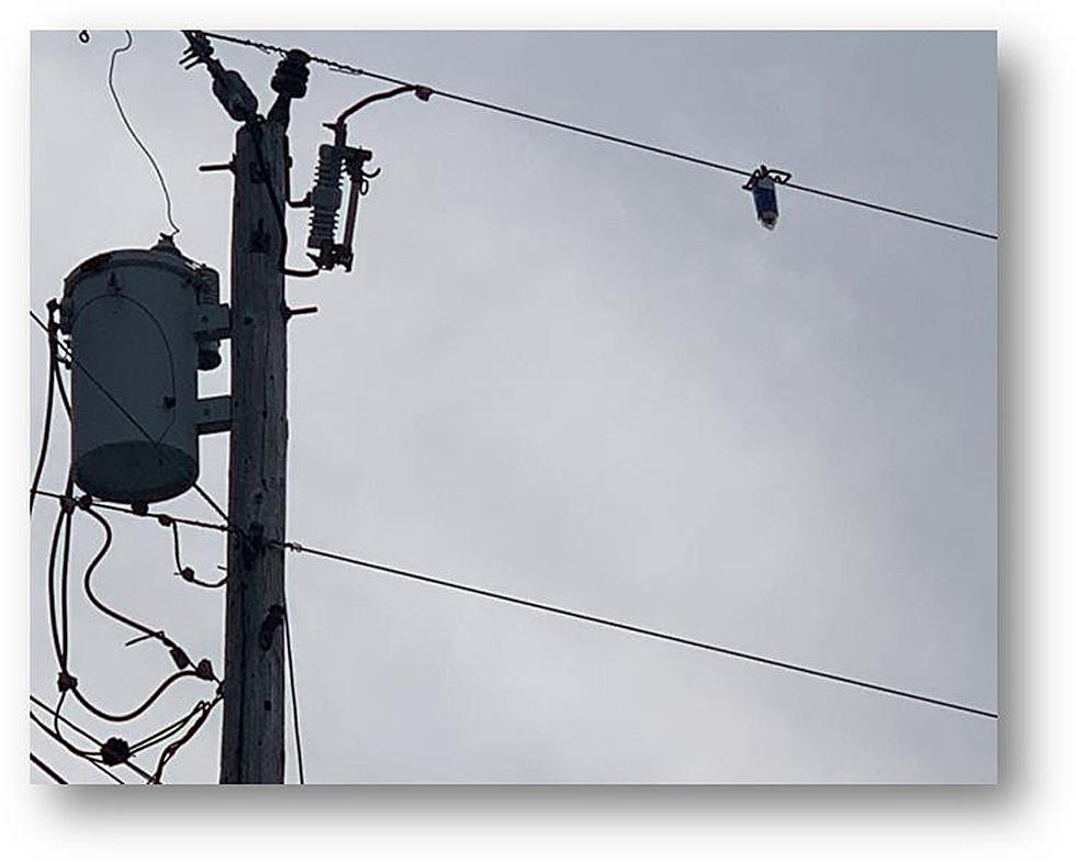 Here's What That Flashing Red Light On The Power Line Is