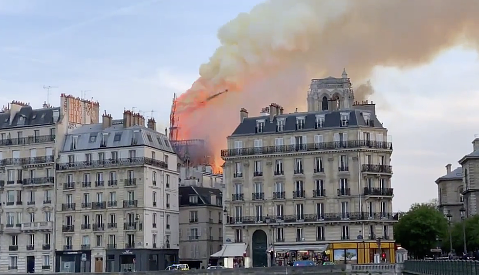 Norwich Students In Paris Notre Dame Cathedral Hours Before Fire