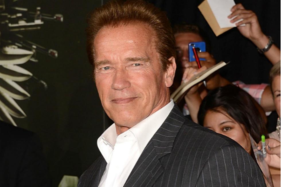 Arnold Schwarzenegger Raps Video
