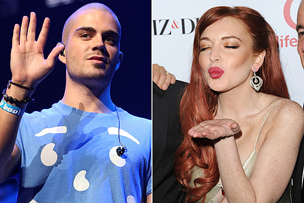 Max George of the Wanted Thinks Lindsay Lohan Is the Kind ...