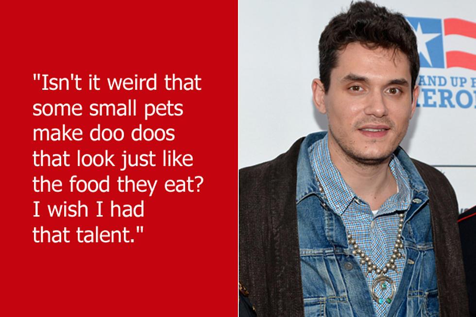 Dumb Celebrity Quotes – John Mayer