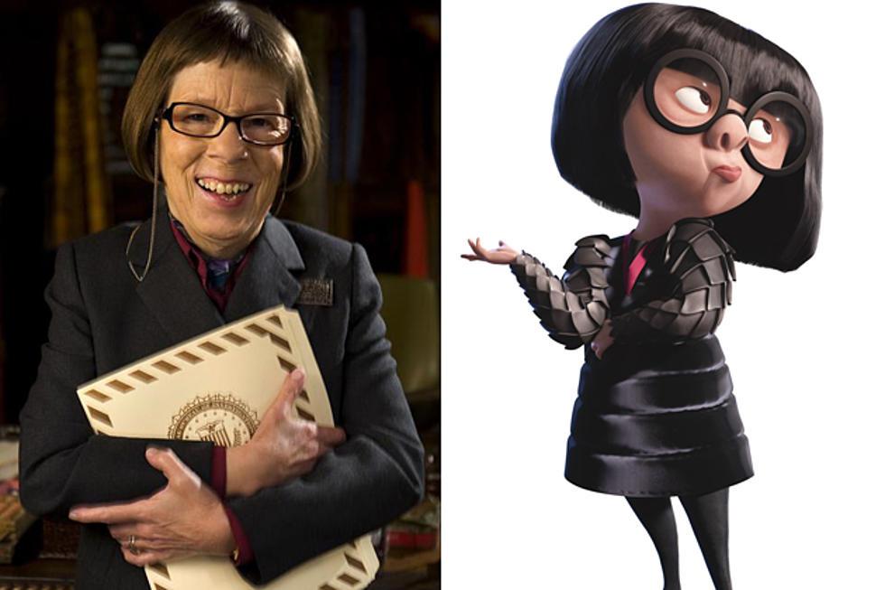 Linda Hunt The Incredibles Edna Mode Celebrity Doppelgangers
