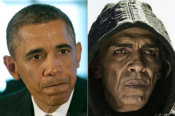 President Barack Obama + The History Channel's Satan ...