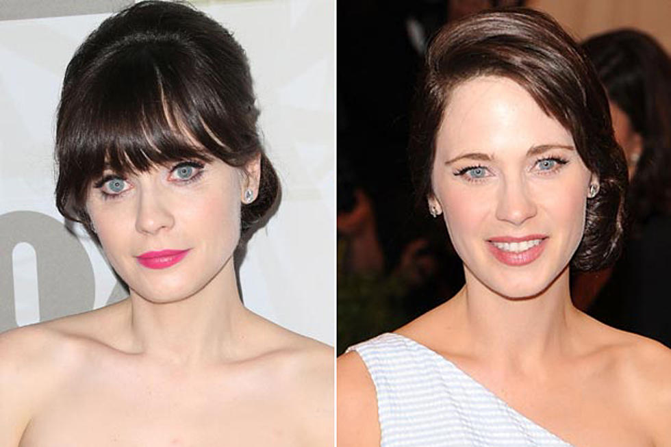 You Won T Even Recognize Zooey Deschanel Without Bangs Photos