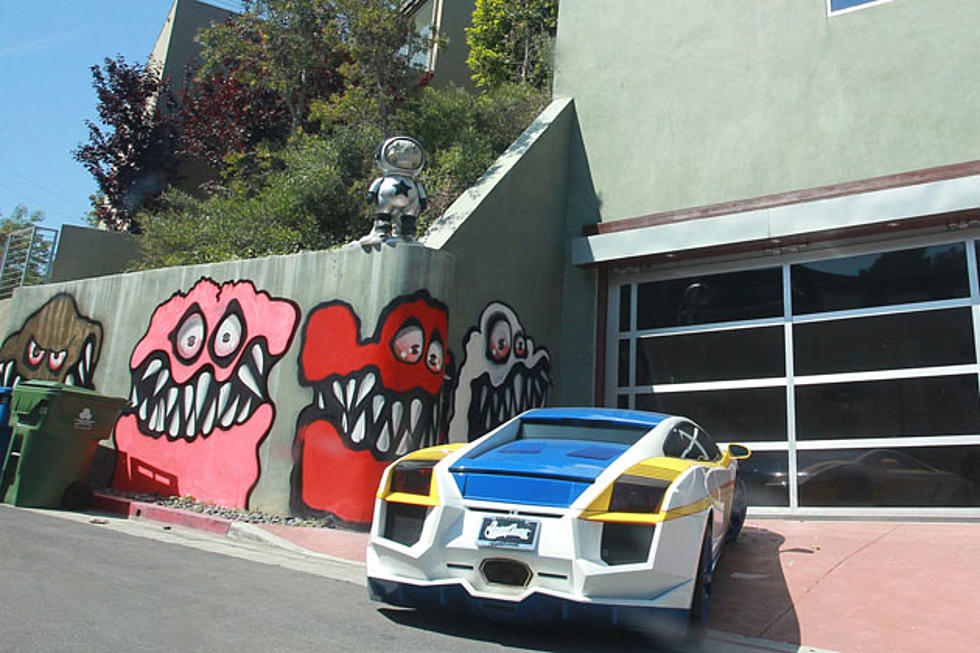 Chris Brown Finally Covered Up Those Weird Graffiti Monsters