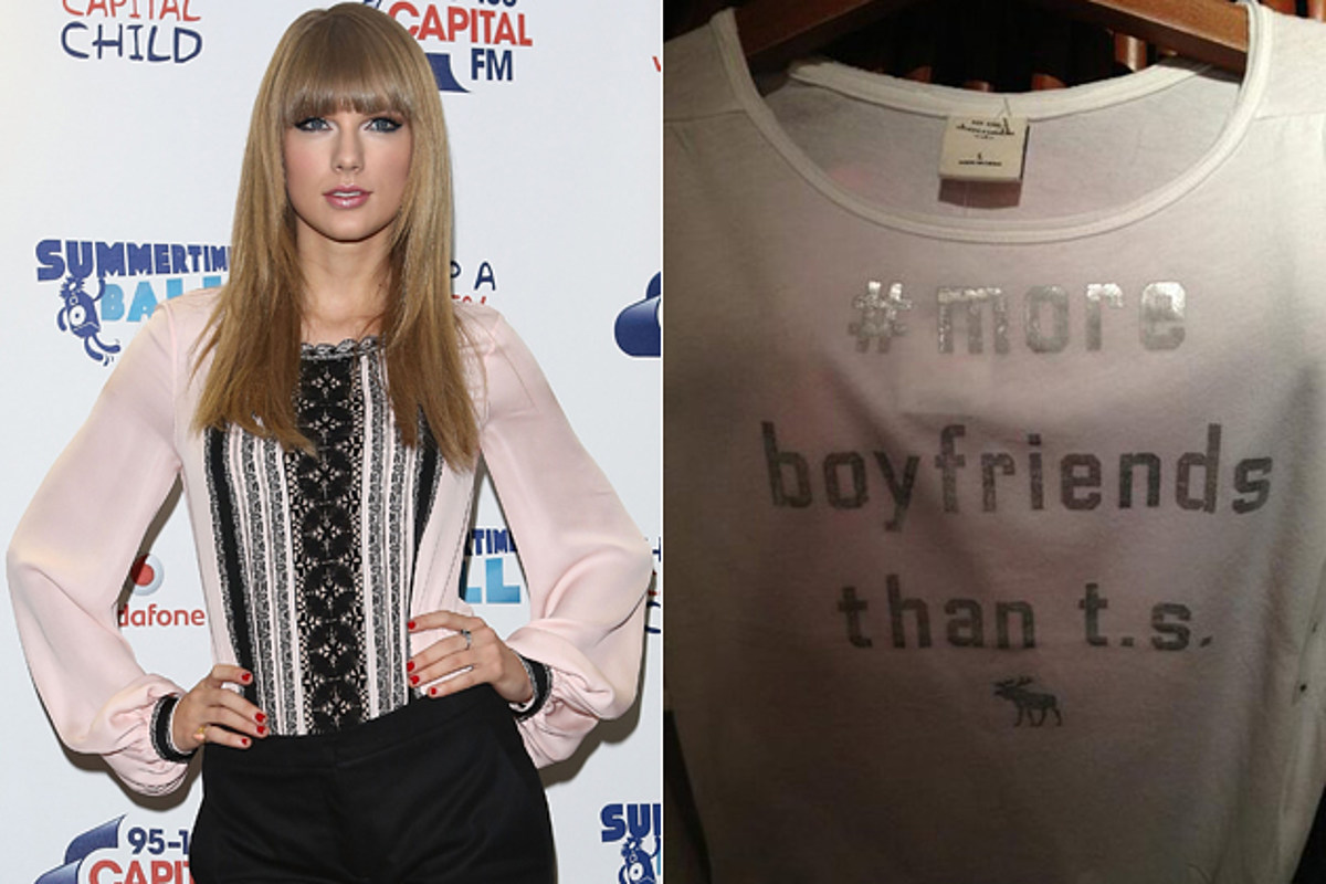 Abercrombie Fitch Pulls T Shirt Mocking Taylor Swift After Fans Complain
