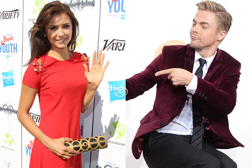 Nina Dobrev + Derek Hough Are Probably a Couple