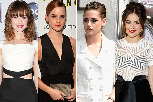 10 Stars Fans Wanted As Anastasia Steele In Fifty Shades Of Grey