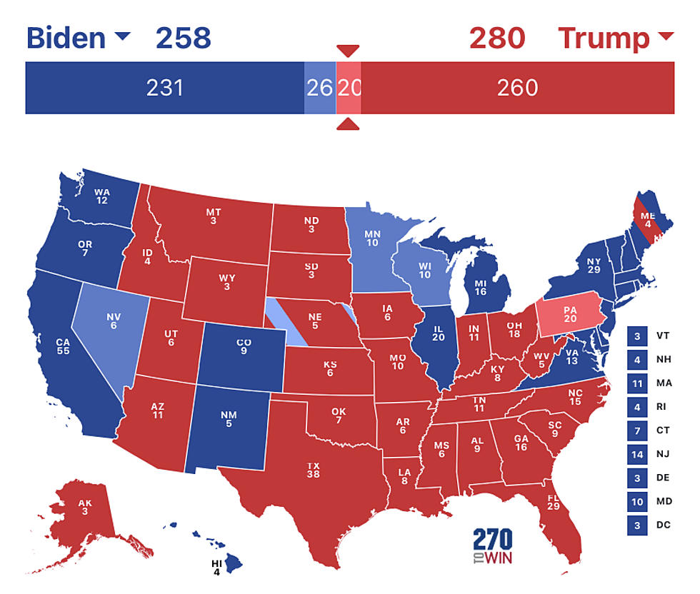 Map Of The Us Electoral College Hurley: Preliminary Electoral Map & Analysis Why Race Is Close