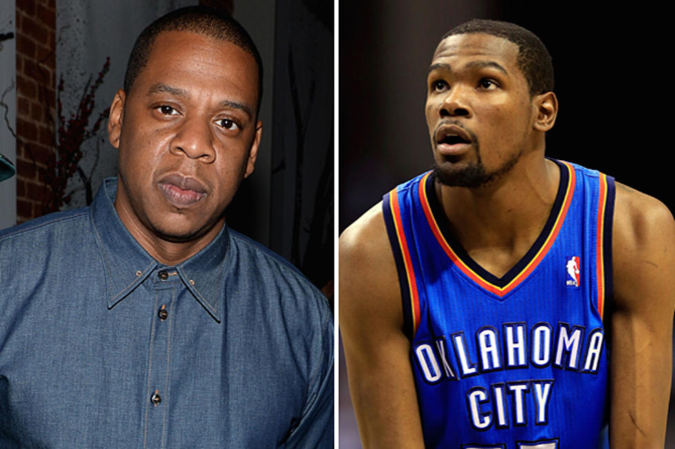 57837c7aab88 Jay-Z Signs Kevin Durant to Roc Nation Sports