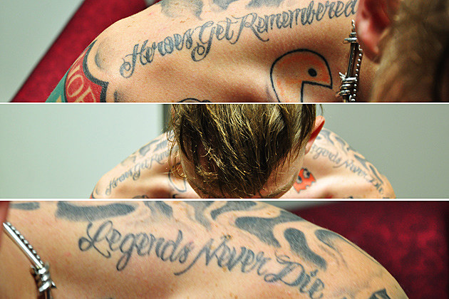 Machine Gun Kelly\'s Tattoo Tales: Rapper Shares 10 Stories ...