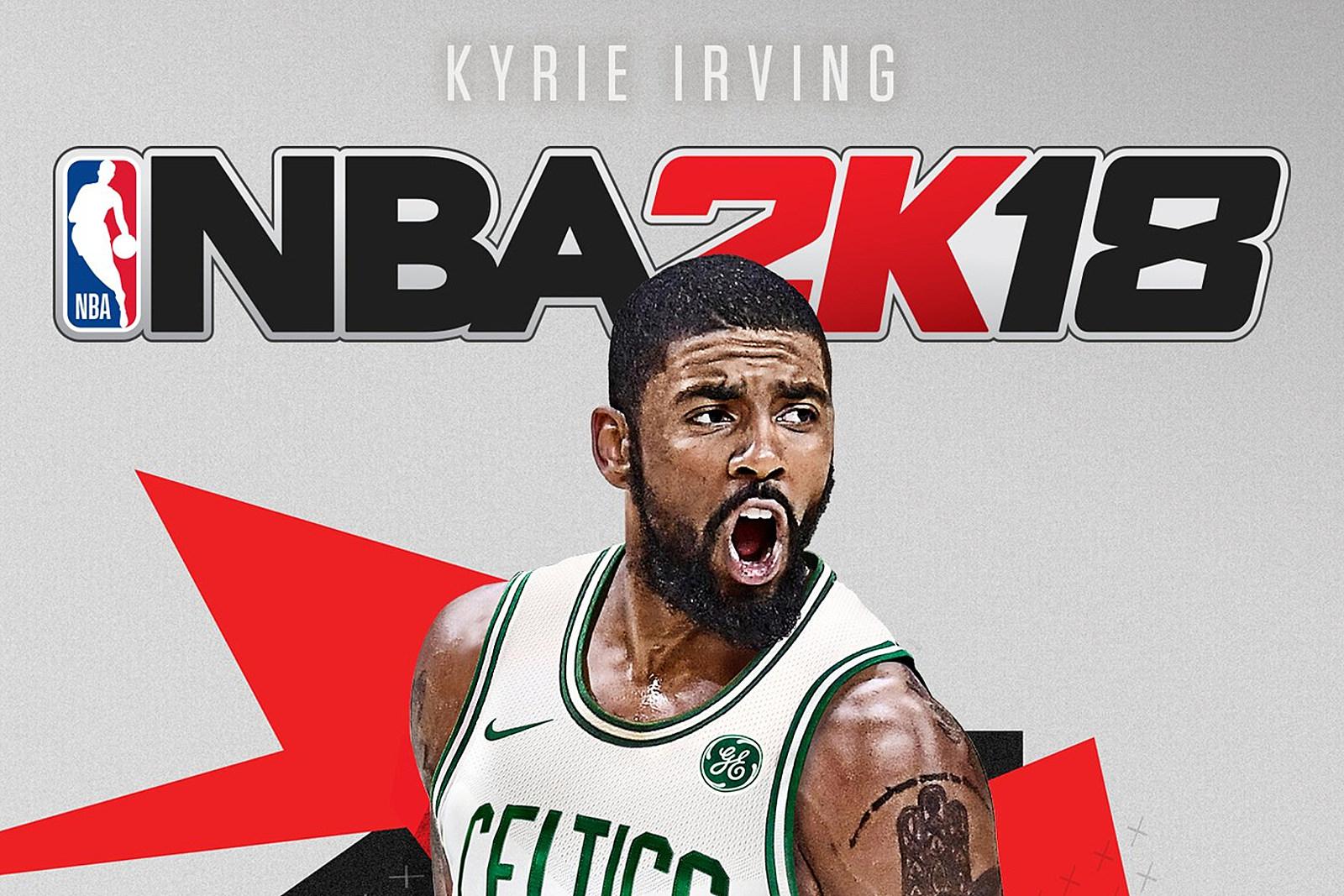 Kyrie Irving Gets 2K18 Celtics Version Cover