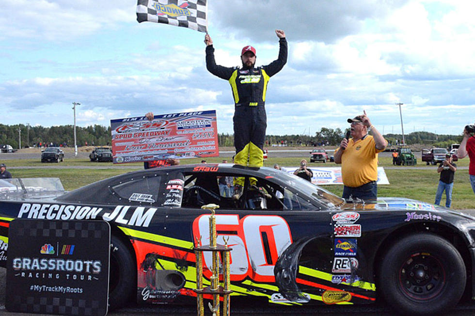 Shaw Wins, Theriault 6th At Spud Speedway