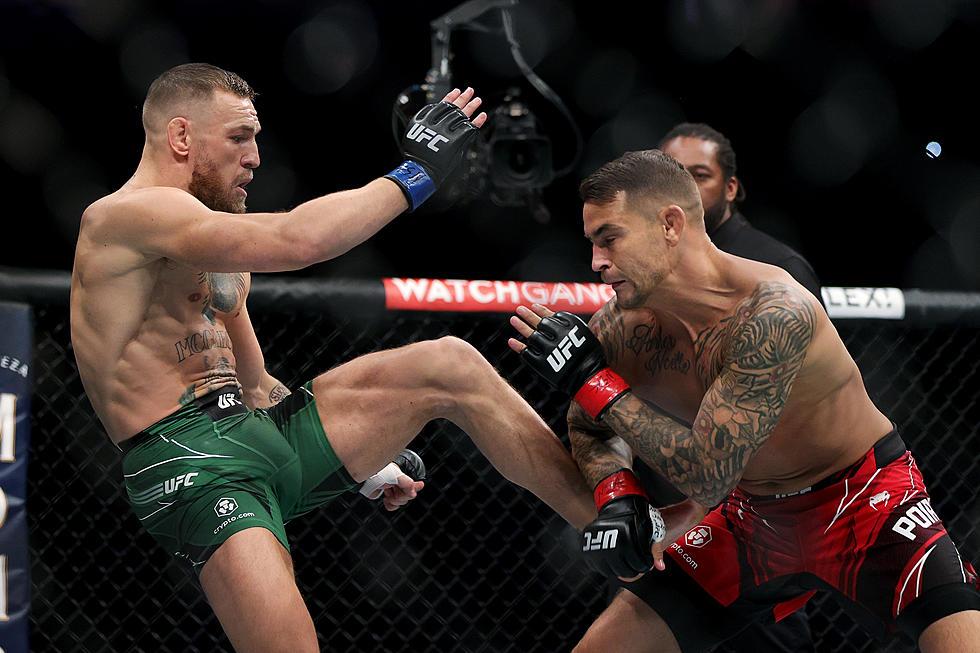 Conor McGregor injures leg, Poirier wins UFC 264 showdown