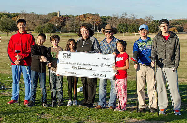 Kyle Park Partners With The First Tee Of Greater San Antonio