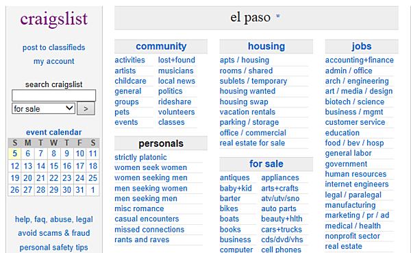El Paso Craigslist Auto Parts