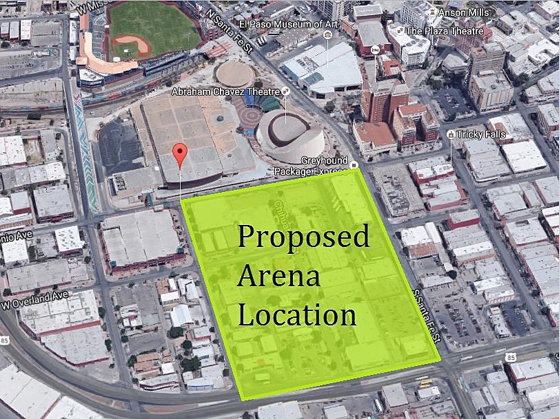 El Paso Historic Landmark Commission Urges New Arena Site