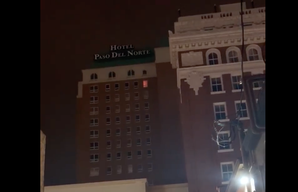 El Pasoan Captures Possible Paranormal Activity In Downtown Hotel