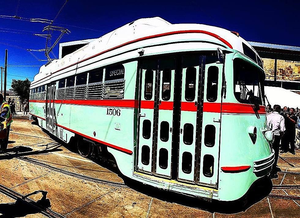 The El Paso Streetcar Is Back and You Can Ride For Free