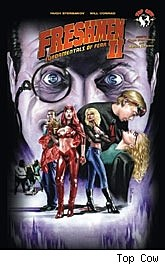 Freshmen Volume 2 Fundamentals of Fear Trade Paperback cover