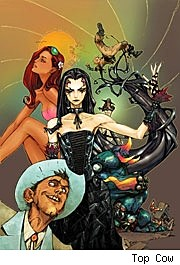 Madame Mirage #3 cover