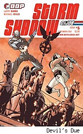 G.I. Joe: Storm Shadow #5 cover