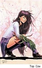Witchblade Takeru Manga #8 cover