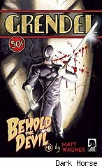 Grendel: Behold the Devil cover