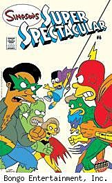 Simpsons Super Spectacular #6 cover
