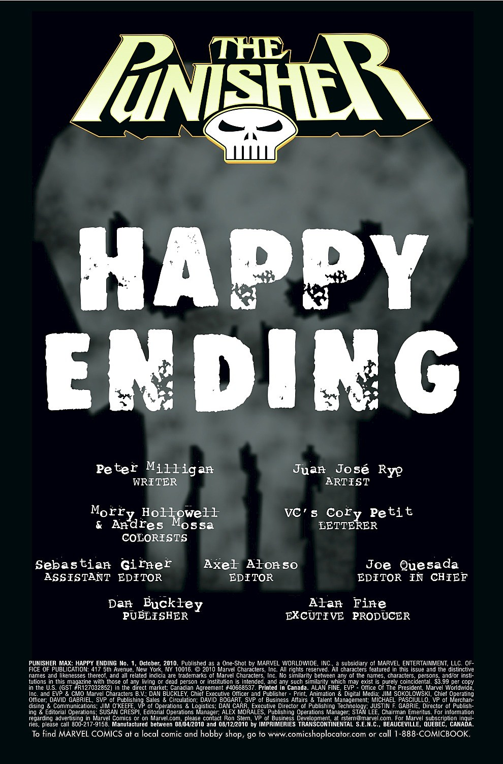 Punisher: Happy Ending