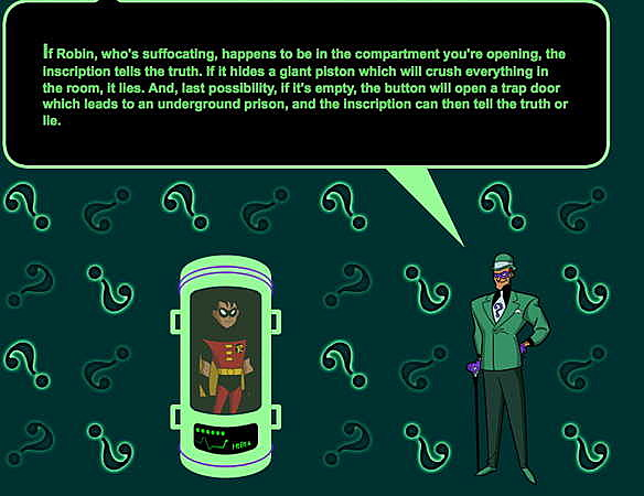 The Riddler's Lair: Classic Puzzles Based on the Batman Villain
