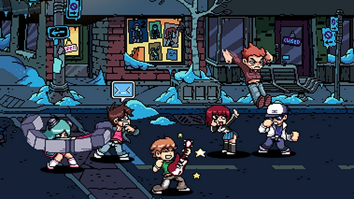 Scott Pilgrim Fighting
