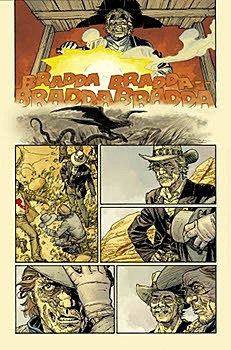 Dave Stewart coloring JH Williams III on 'Jonah Hex'