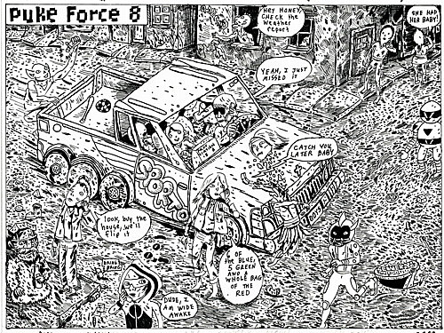 Link Ink The Walking Dead Season 2 Puke Force Webcomic