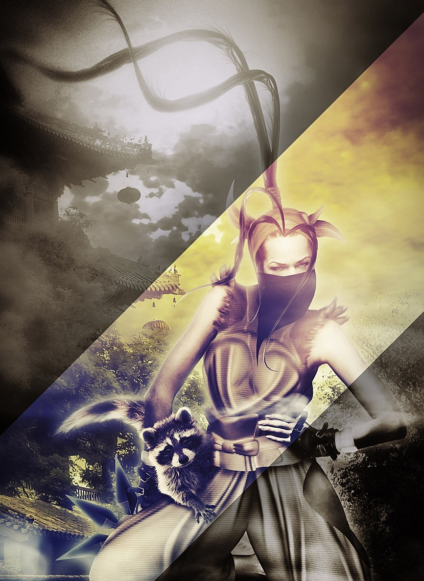 Hyper Real Super Street Fighter IV Art Featuring Ibuki src=