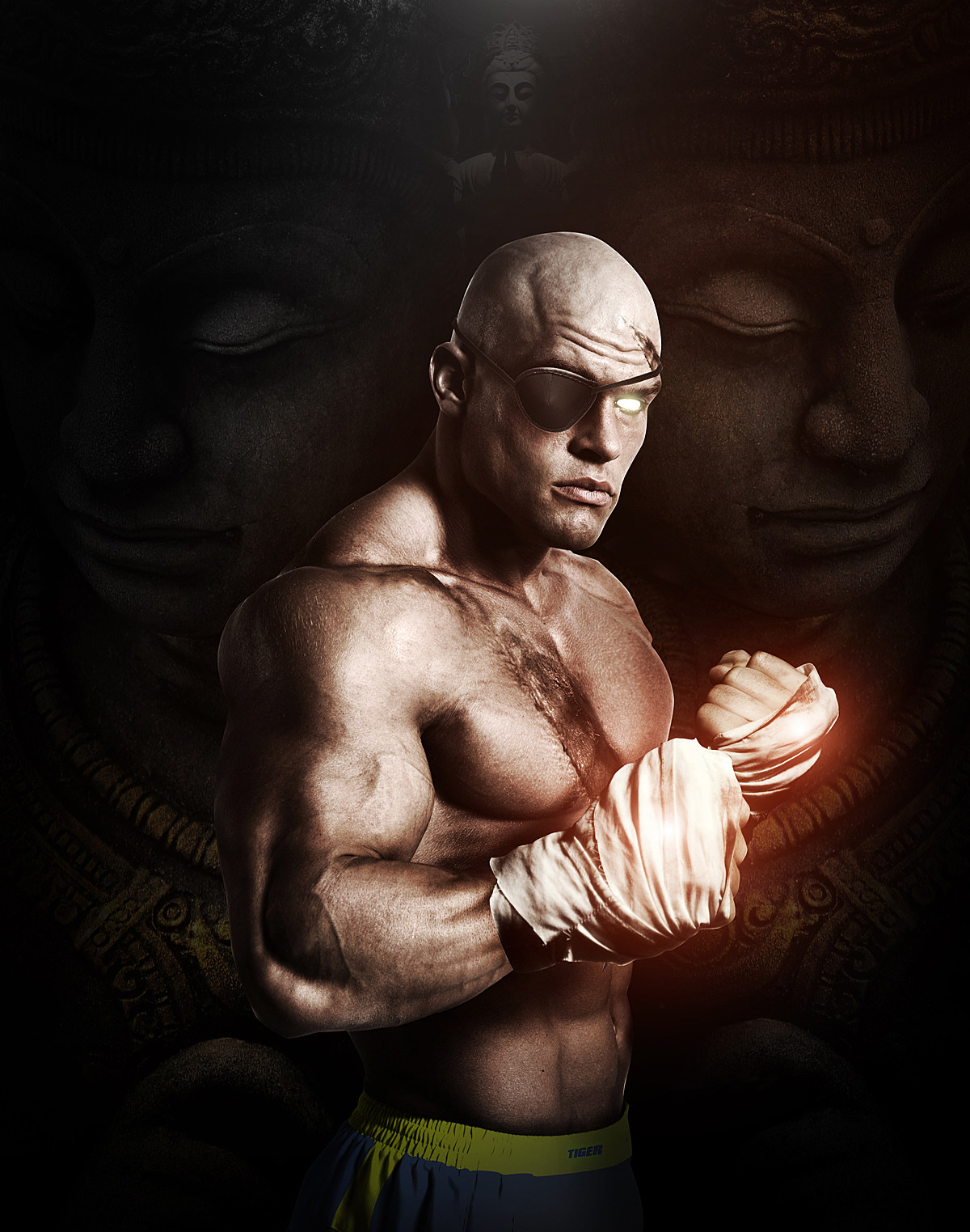Hyper Real Super Street Fighter IV Art Featuring Sagat src=
