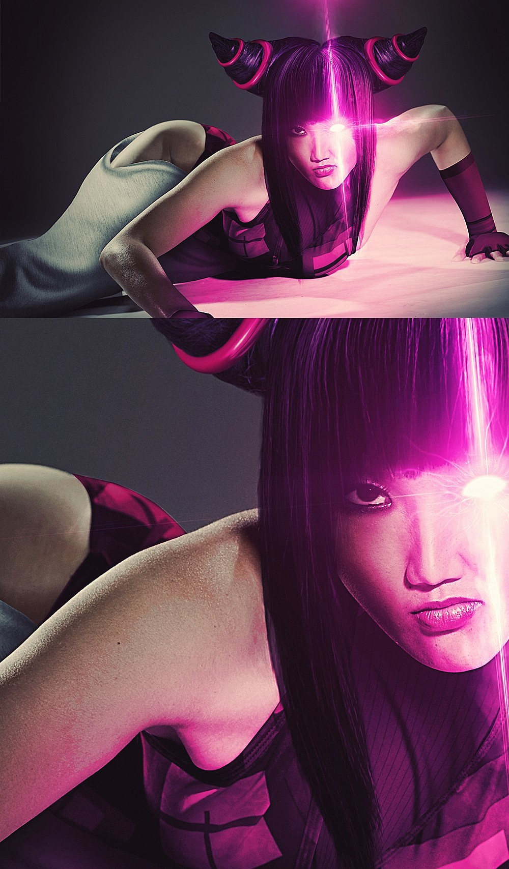 Hyper Real Super Street Fighter IV Art Featuring SIN Agent Juri src=