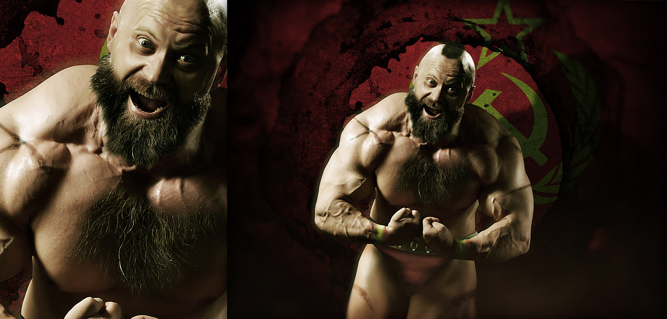 Hyper Real Super Street Fighter IV Art Featuring Zangief src=