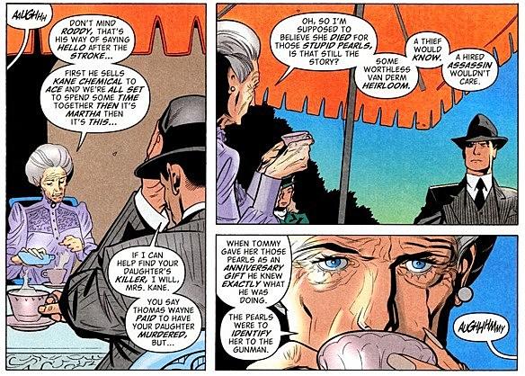 Batman: The Return of Bruce Wayne #5 [Annotations]
