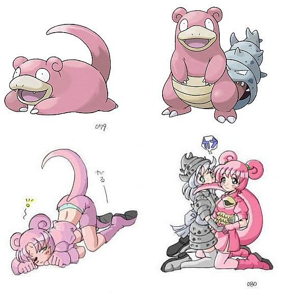 493 Pokemon Drawn as Sexy Anime Girls Because The Internet