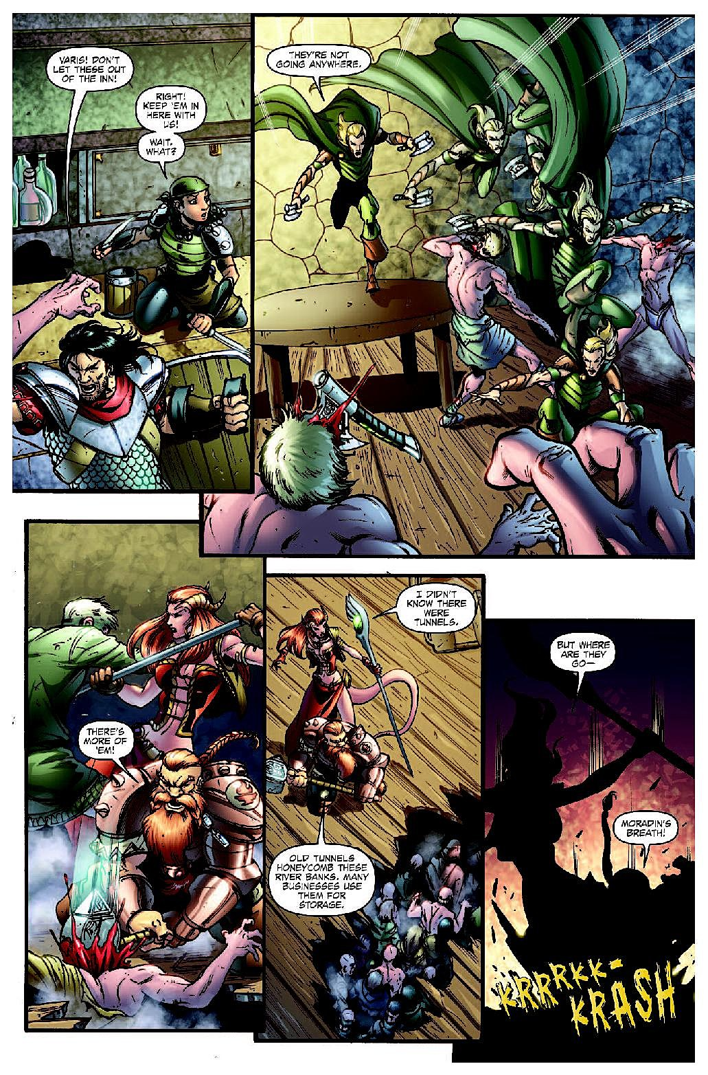 Idw S Dungeons Amp Dragons Will Make You Save Versus Awesome