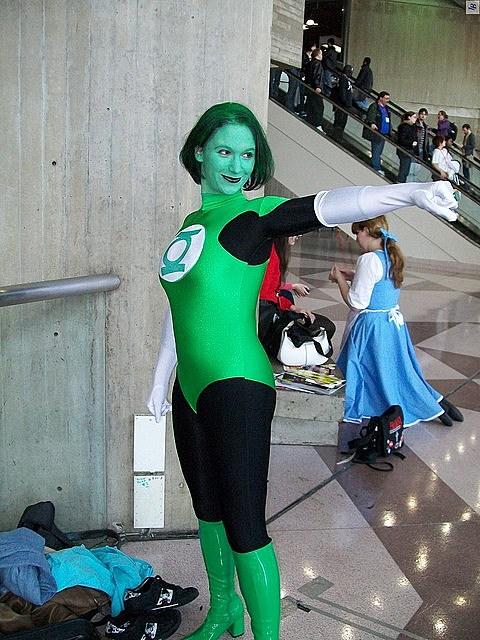 green cosplay Best lantern
