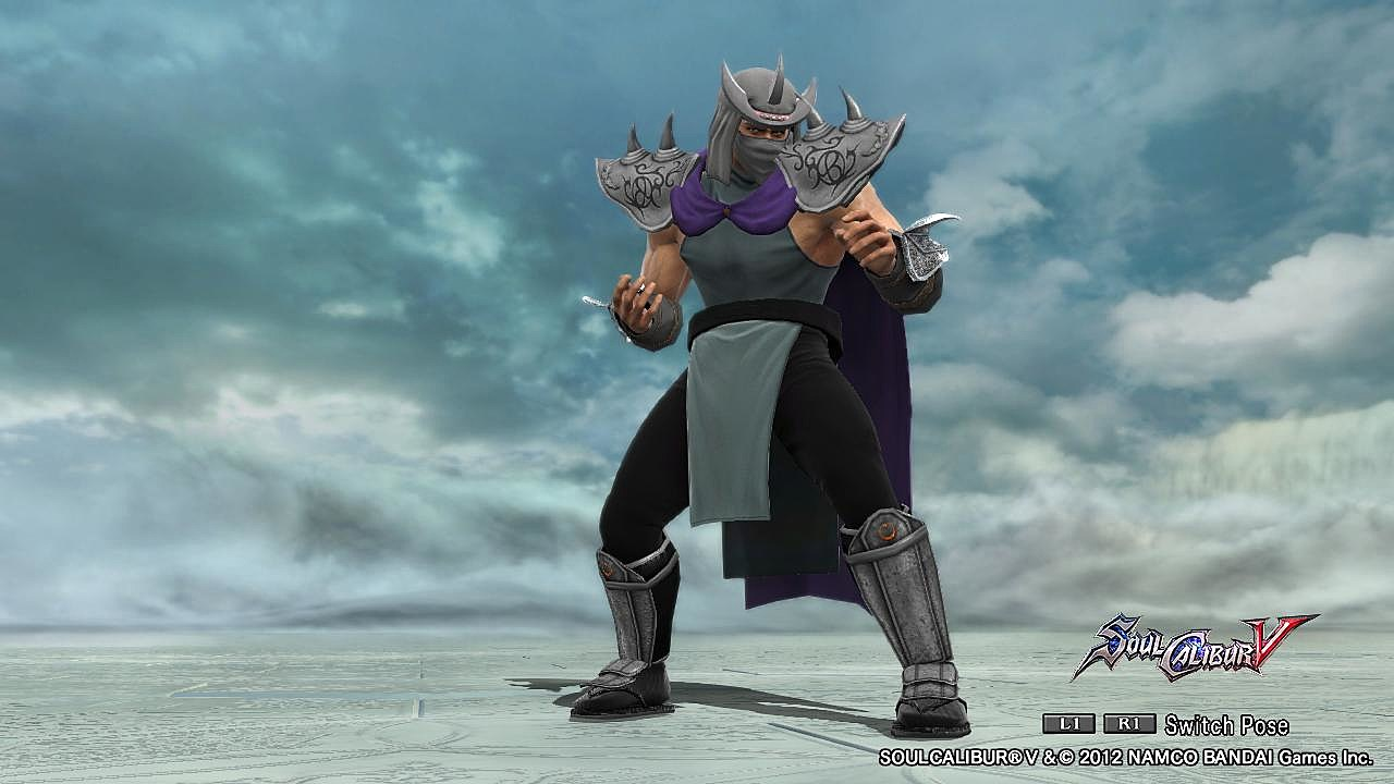 Soul Calibur V' Customizers Go Wild with Comic Book and