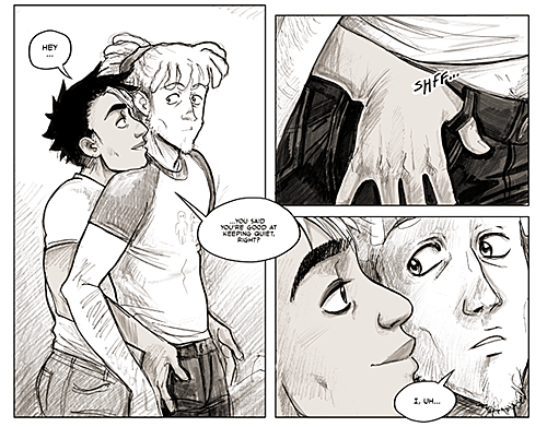 from Bronson erotic gay webcomics