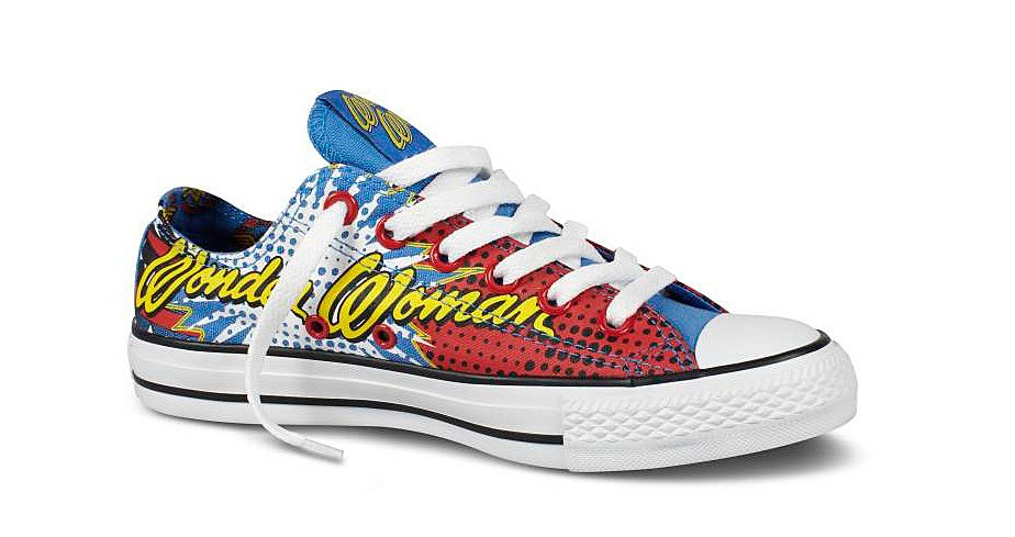 48b57256089c DC Comics x Converse Unveils Wonder Woman   Killer Croc Kicks ...