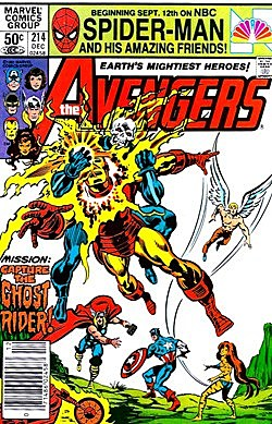 Bizarro Back Issues: Ghost Rider Fights All of the Avengers