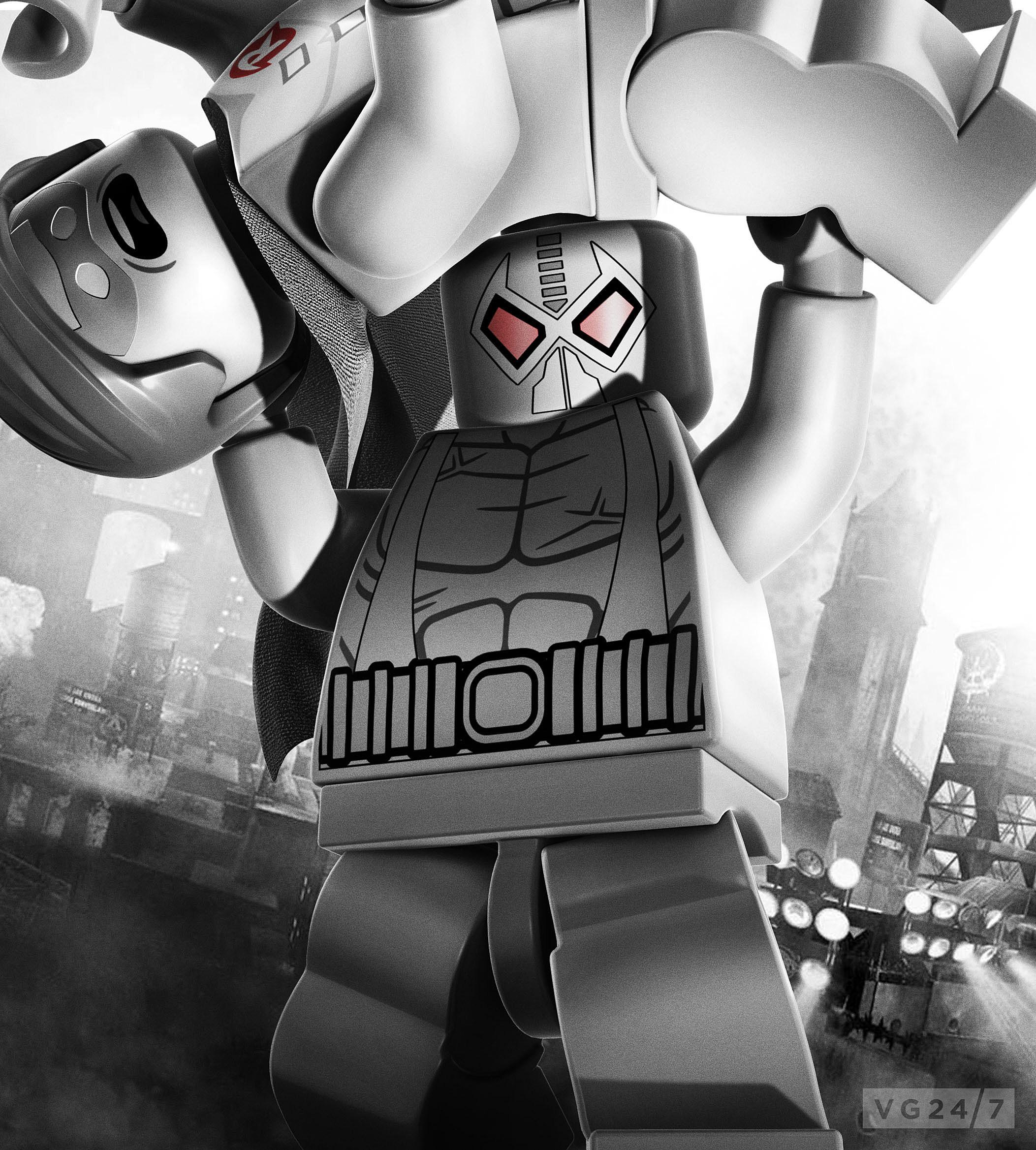 Lego Batman 2 Dc Super Heroes Teases Characters Arkham City Style