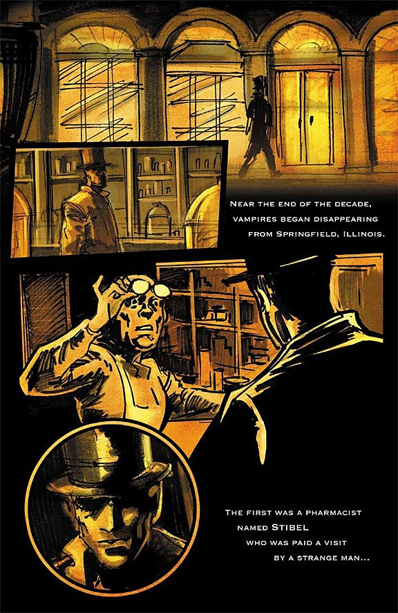 Aspen Turns Abraham Lincoln Vampire Hunter Storyboards Into Graphic Novel Exclusive Preview