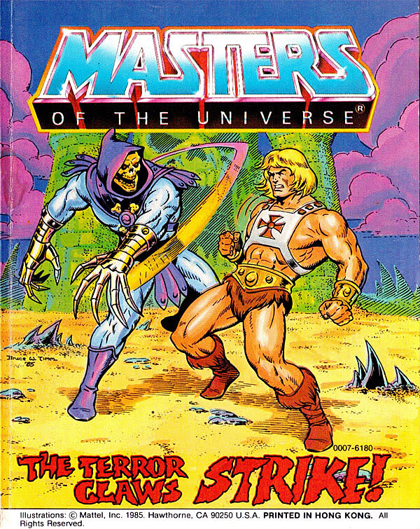 The Surprisingly Awesome Comics History of 'Masters Of The